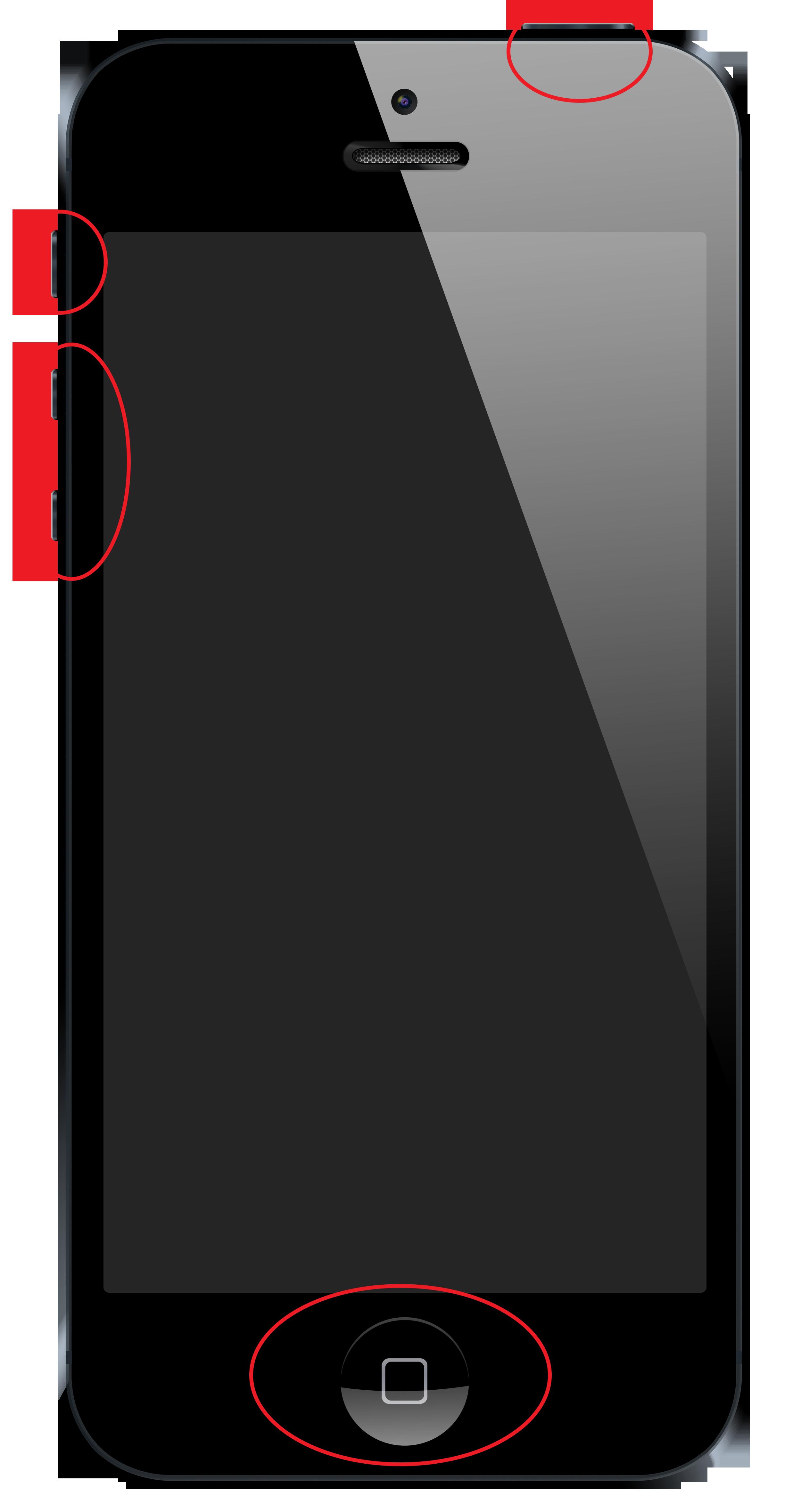 Ремонт и замена кнопки включение и кнопки Home на Iphone в Иркутске