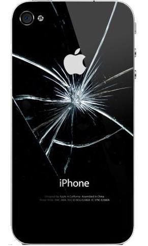 Замена и ремонт задней крышки iPhone (4s, 5s, 6 и другие) в Иркутске